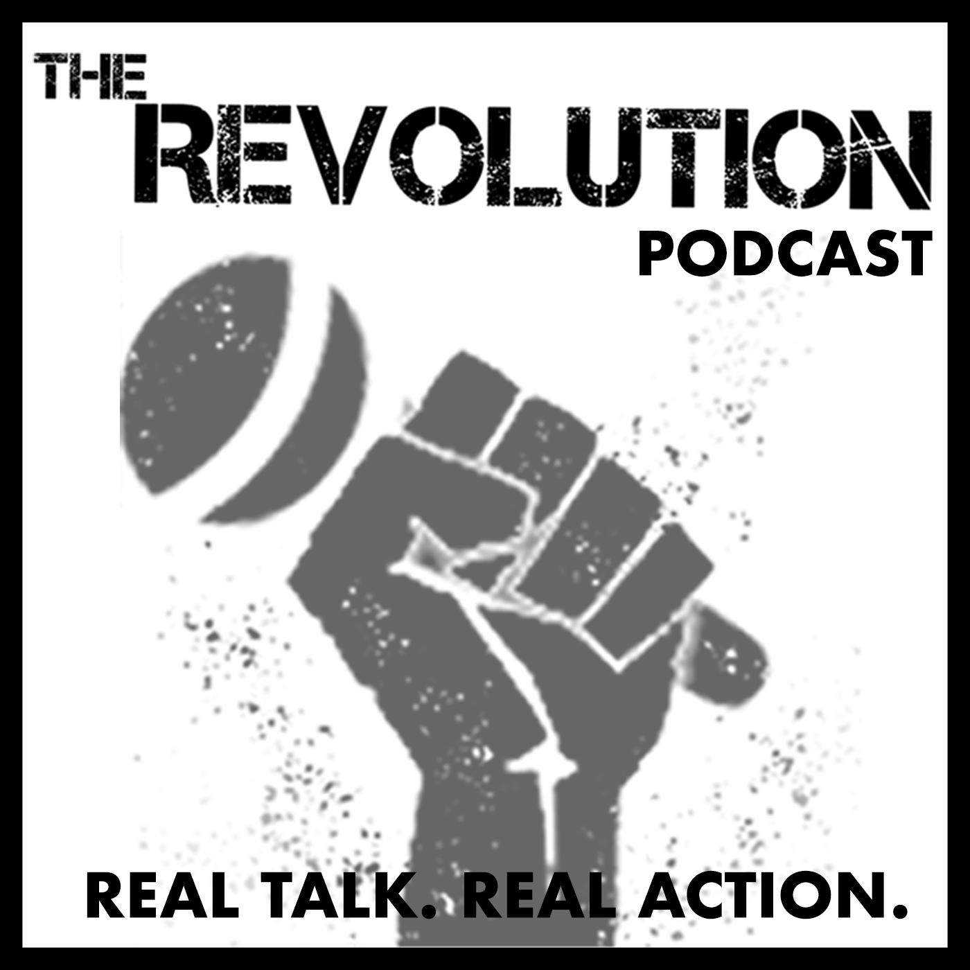 The Revolution Podcast show art