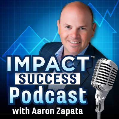 Artwork for 034 – Justin Boyd – IMPACT Podcast with Aaron Zapata