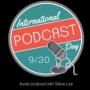 Artwork for #PodcastDay for International Podcast Day on siliconbeachradio.com