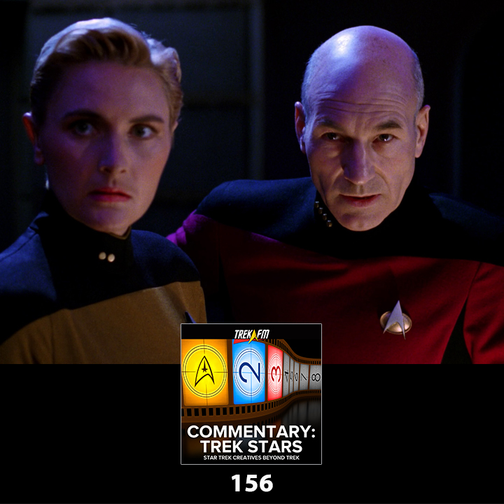 Commentary: Trek Stars 156: Riker's Brain