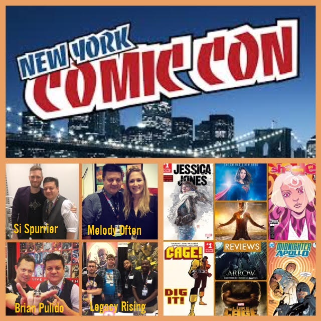 Episode 724 - NYCC Recap w/ Si Spurrier/Brian Pulido/Melody Often/Legacy Rising!
