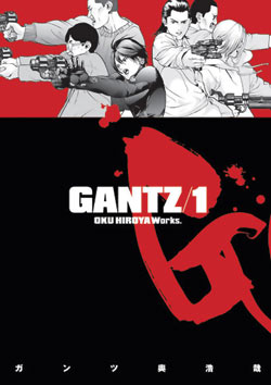 Podcast Episode 106: Gantz Volume 1 by Hiroya Oku