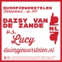 Artwork for 047 // Daisy van de Zande vs. Lucy // Duimpjeworstelen