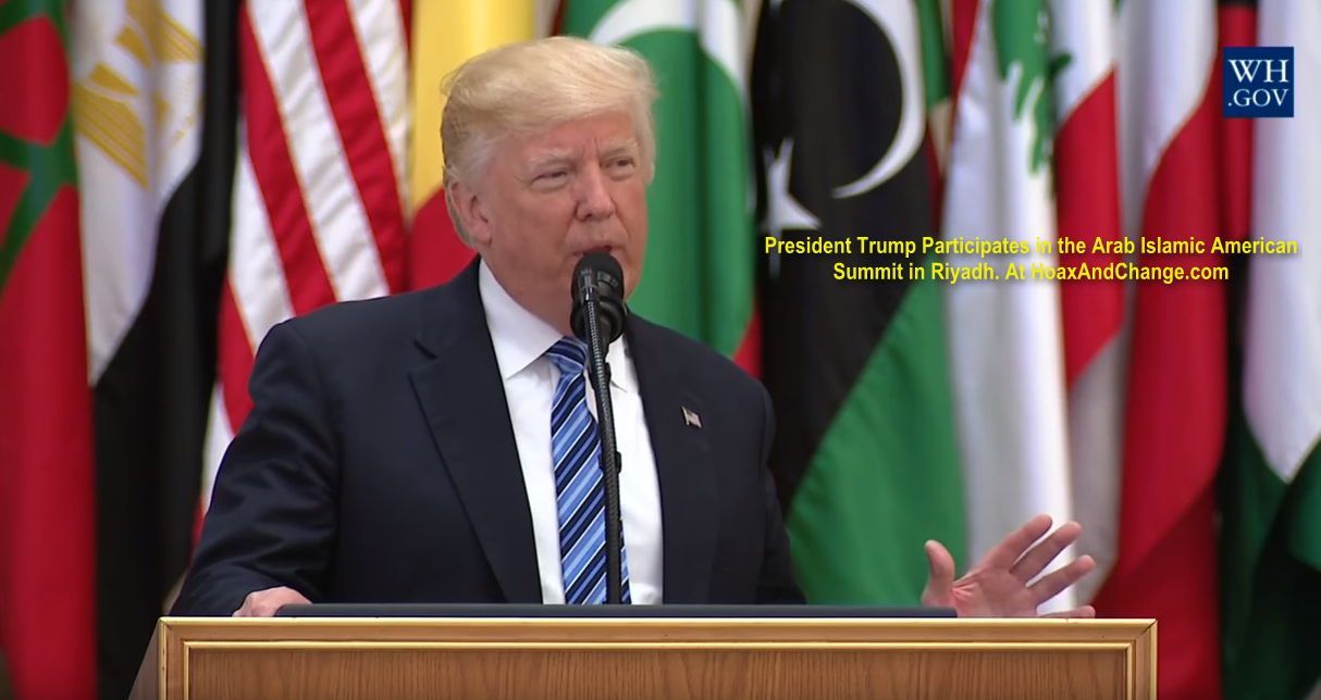 President Trump In Saudi Arabia