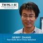 Artwork for Fast Radio Burst Pulse Detection with Gerry Zhang - TWIML Talk #278