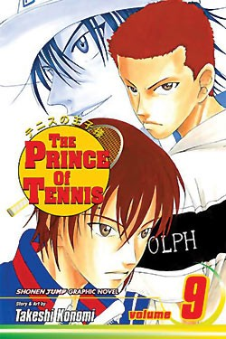 Manga Review: The Prince of Tennis Volume 9