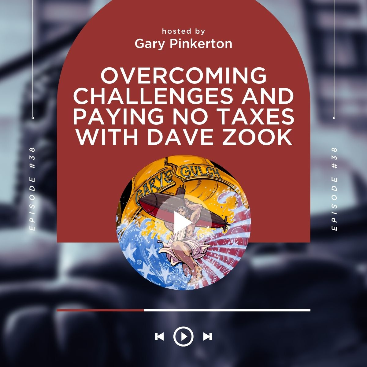 Overcoming Challenges and Paying No Taxes with Dave Zook show art