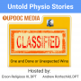 Artwork for Untold Physio Stories 159 - One and Done or Unexpected Wins