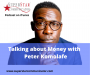 Artwork for Talking about money with Peter Komolafe