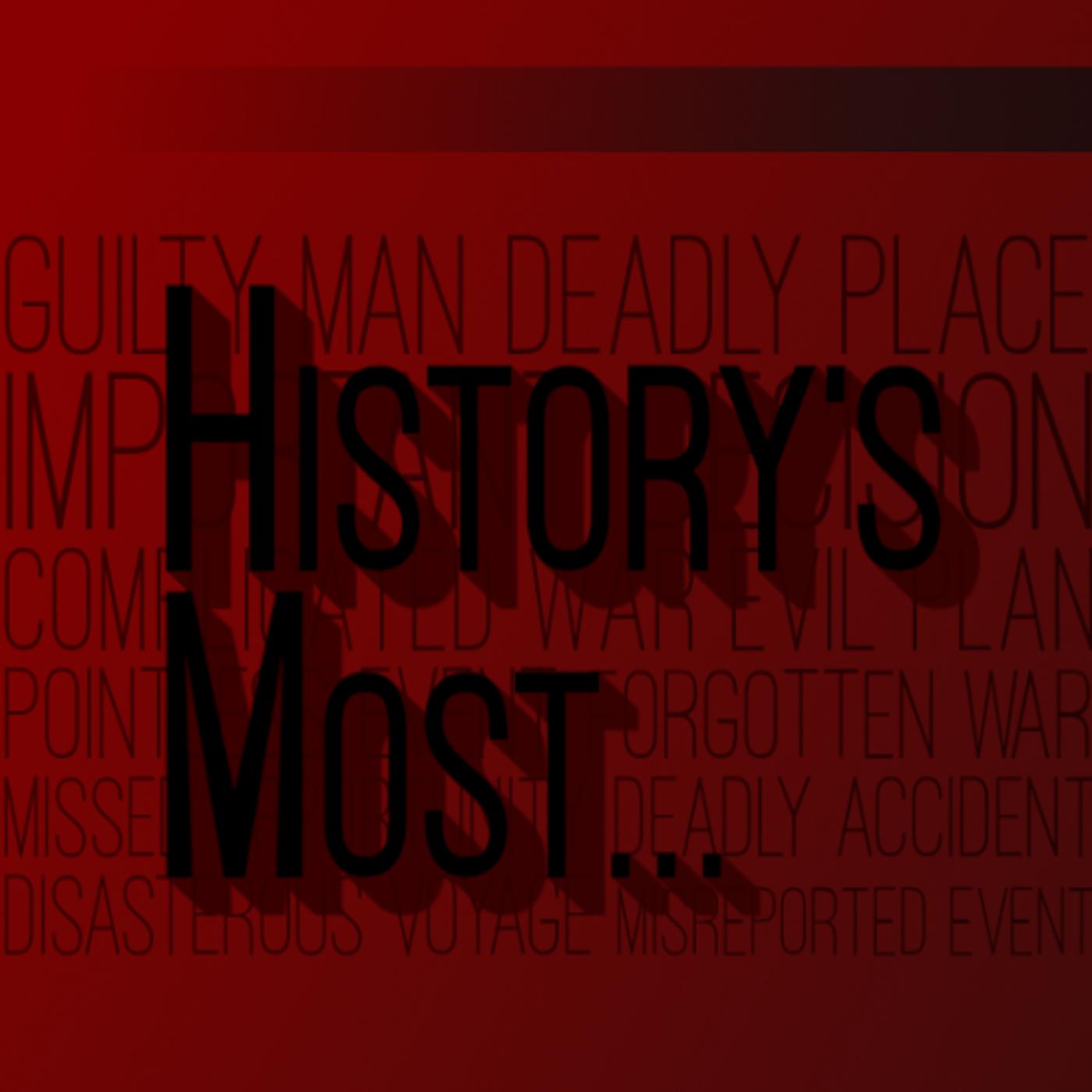 History's Most show art