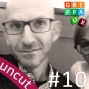 Artwork for #10 Uncut: greppaUX on tour meets the Lean UX legend Jeff Gothelf  and chat over a Fritz-cola