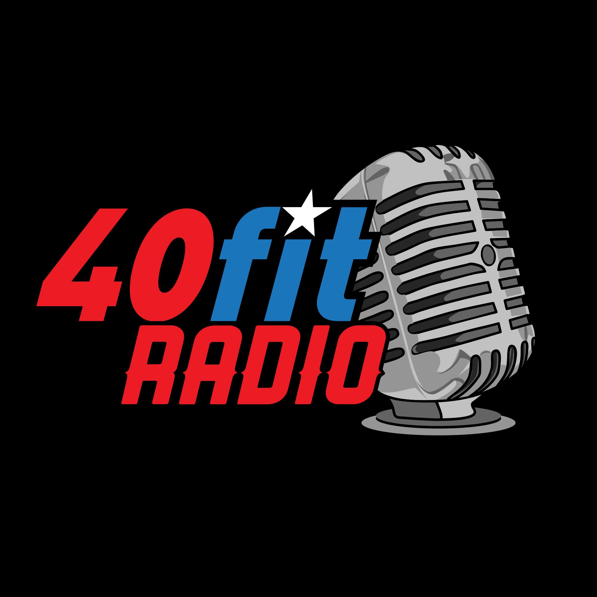 40fit Radio show art