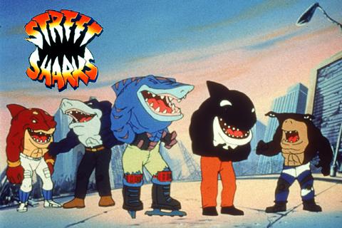 Back in Toons- Street Sharks & Jabberjaw
