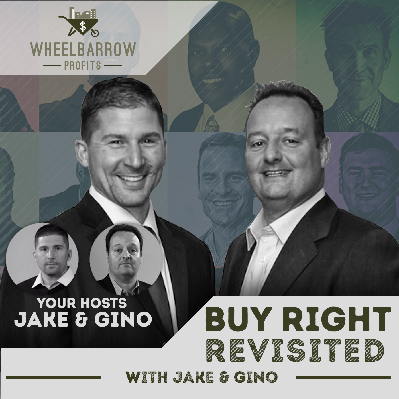 Artwork for Buy Right Revisited with Jake & Gino