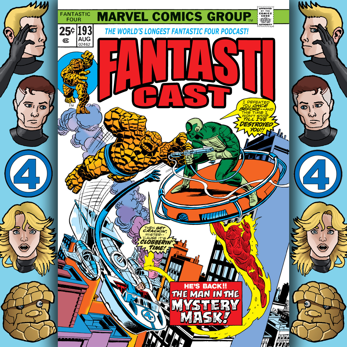 Episode 193: Fantastic Four #154 & Marvel Team-Up #29