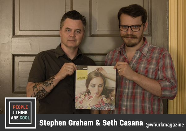 Ep. 37 Stephen Graham & Seth Casana