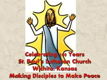 St. Paul's Lutheran 100th Anniversary Celebration - Communion