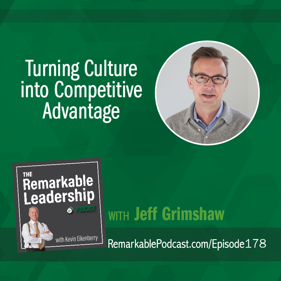 Turning Culture into Competitive Advantage with Jeff Grimshaw show art