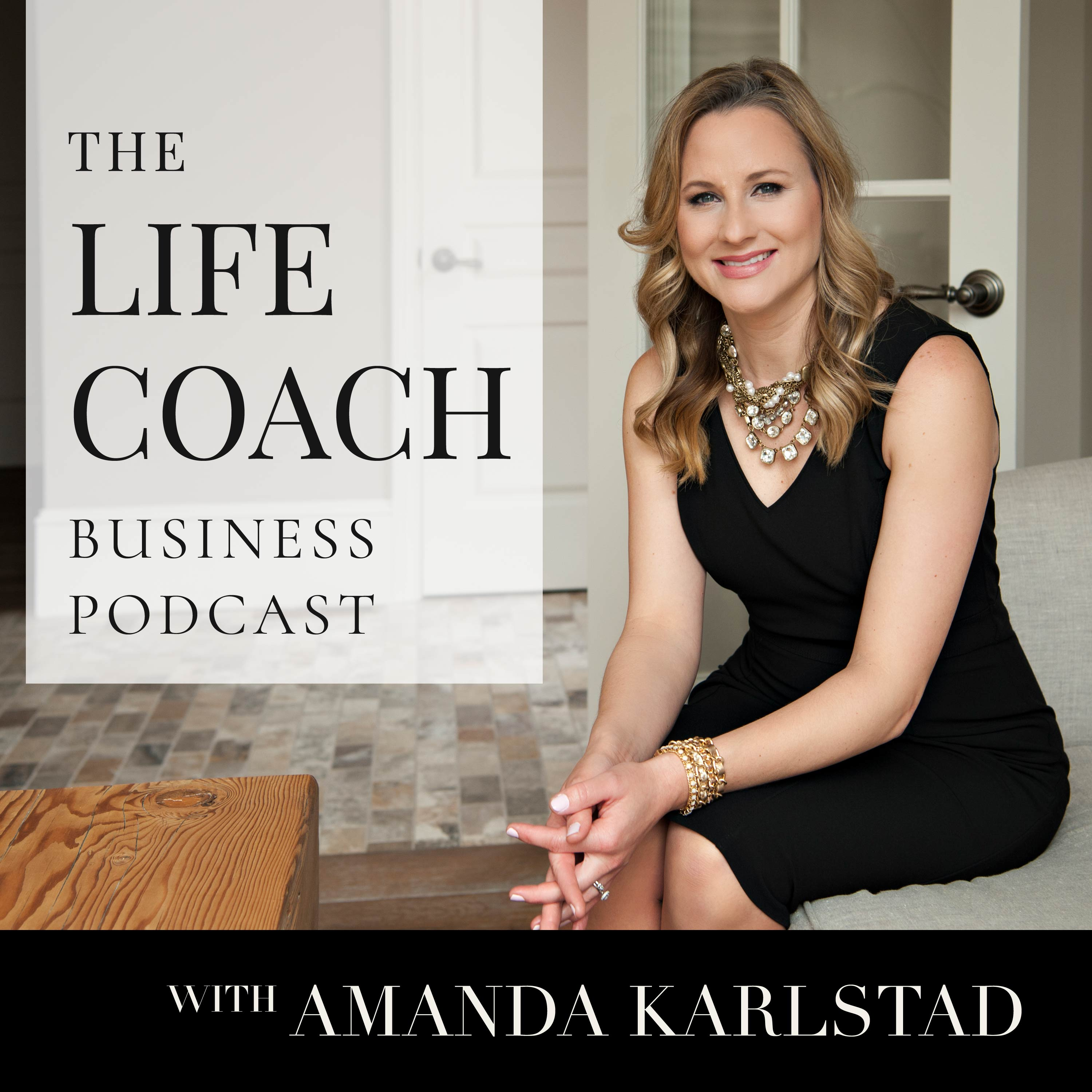 The Life Coach Business Podcast show art