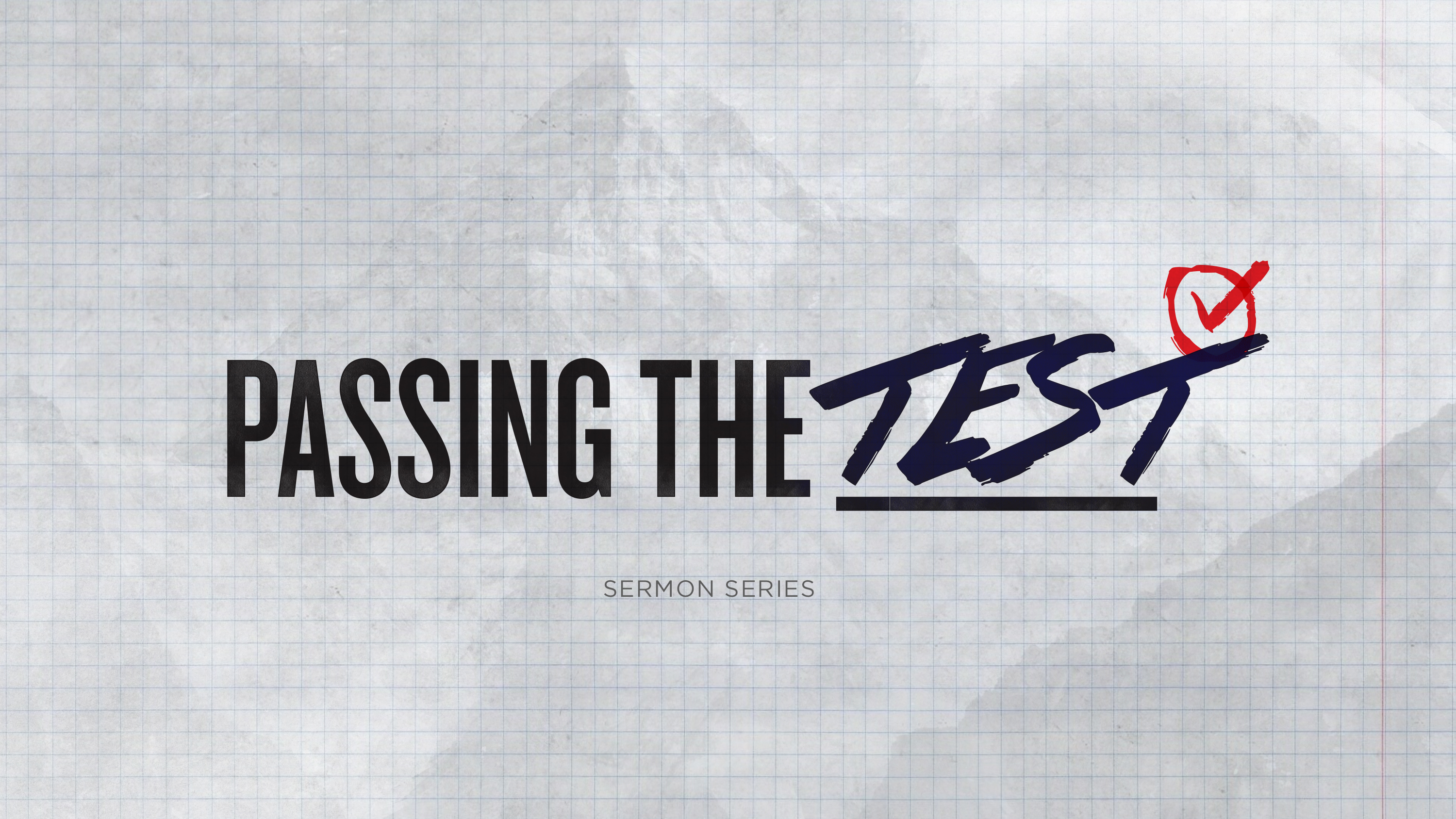 Artwork for Passing the Test: The Daughters of Zelophehad 5-17-15