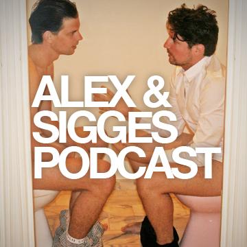 Alex & Sigges podcast logo