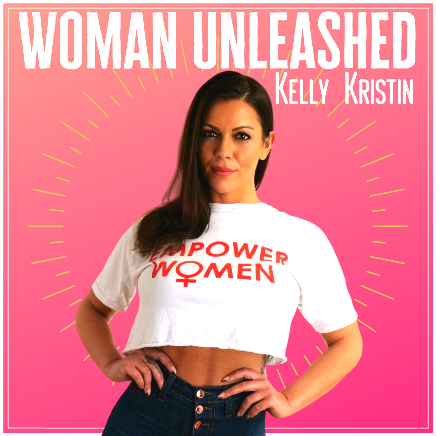 Woman Unleashed show art