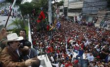 Honduras insurrection against the coup  - Assassination attempts against President Zelaya.