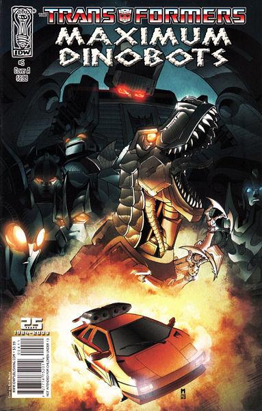 Iaconic Reviews Maximum Dinobots # 5