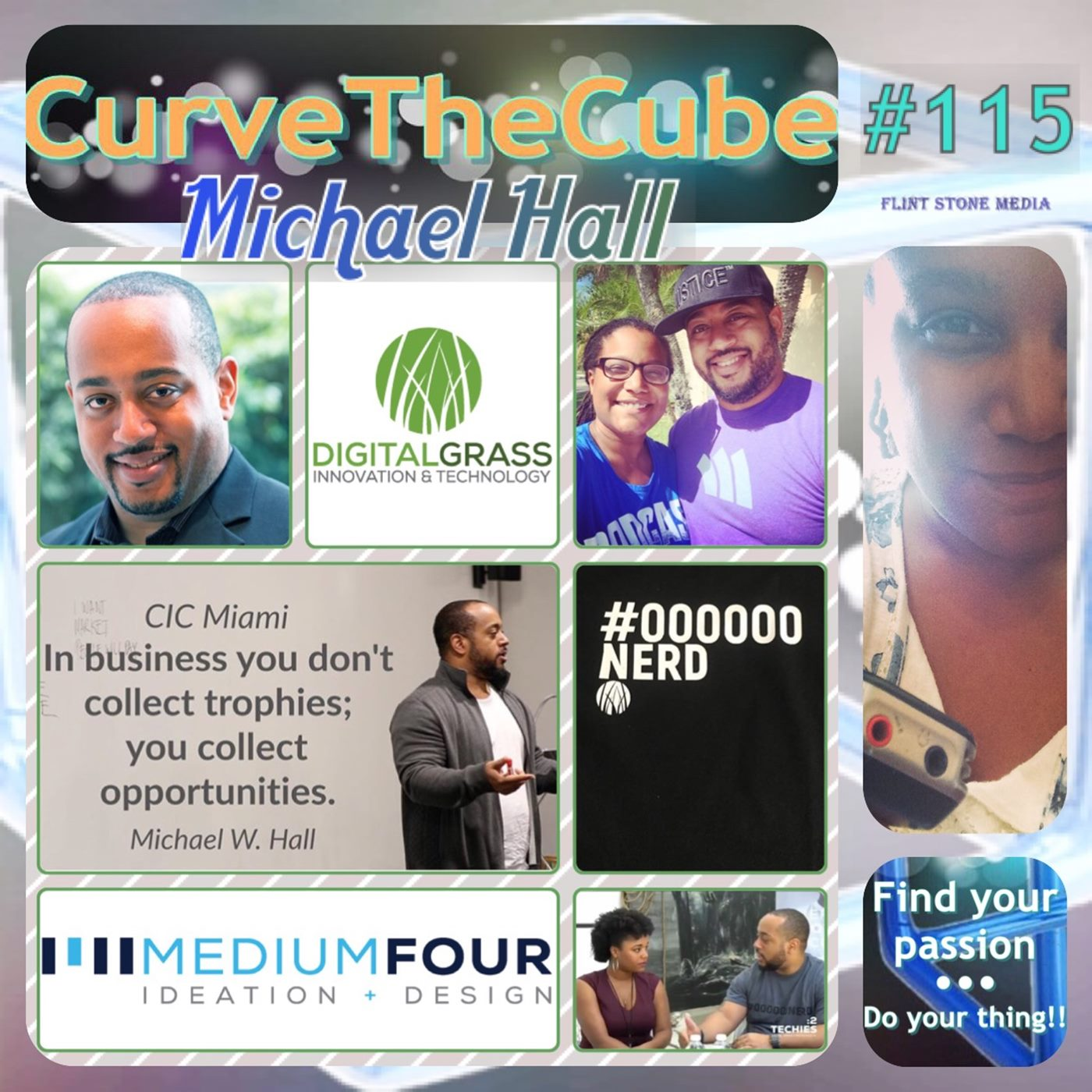 Michael Hall of Digital Grass and MediumFour on the Curve the Cube Podcast