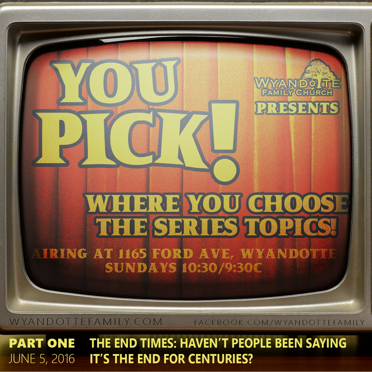 "YouPick Part 1: ""The End Times"""