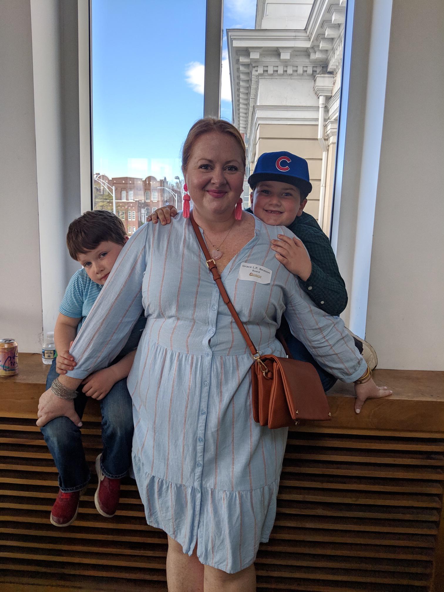 Grace Beason and Her Boys