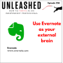 Artwork for 236. Tech recommendation: Use Evernote as your external brain