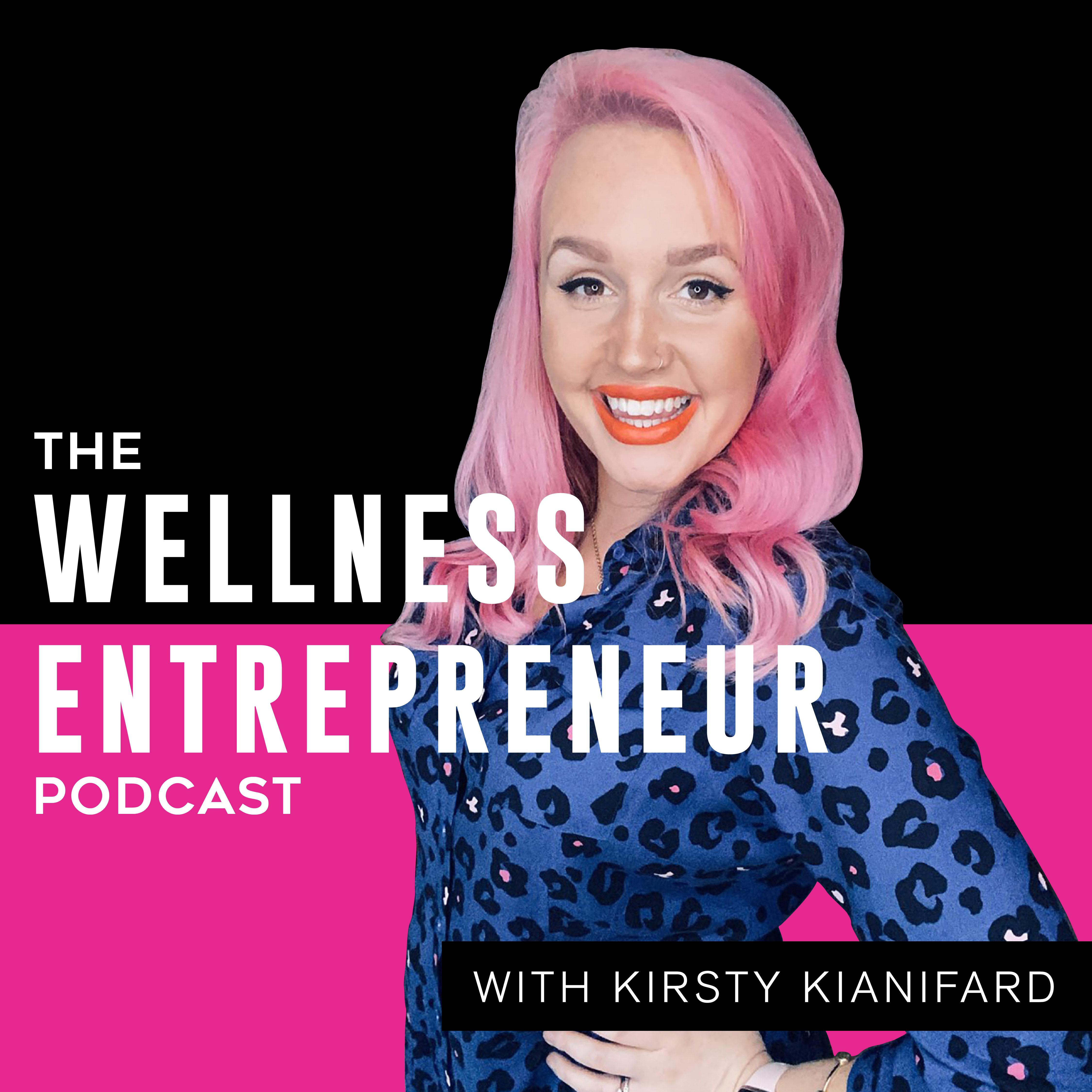 The Wellness Entrepreneur Podcast show art