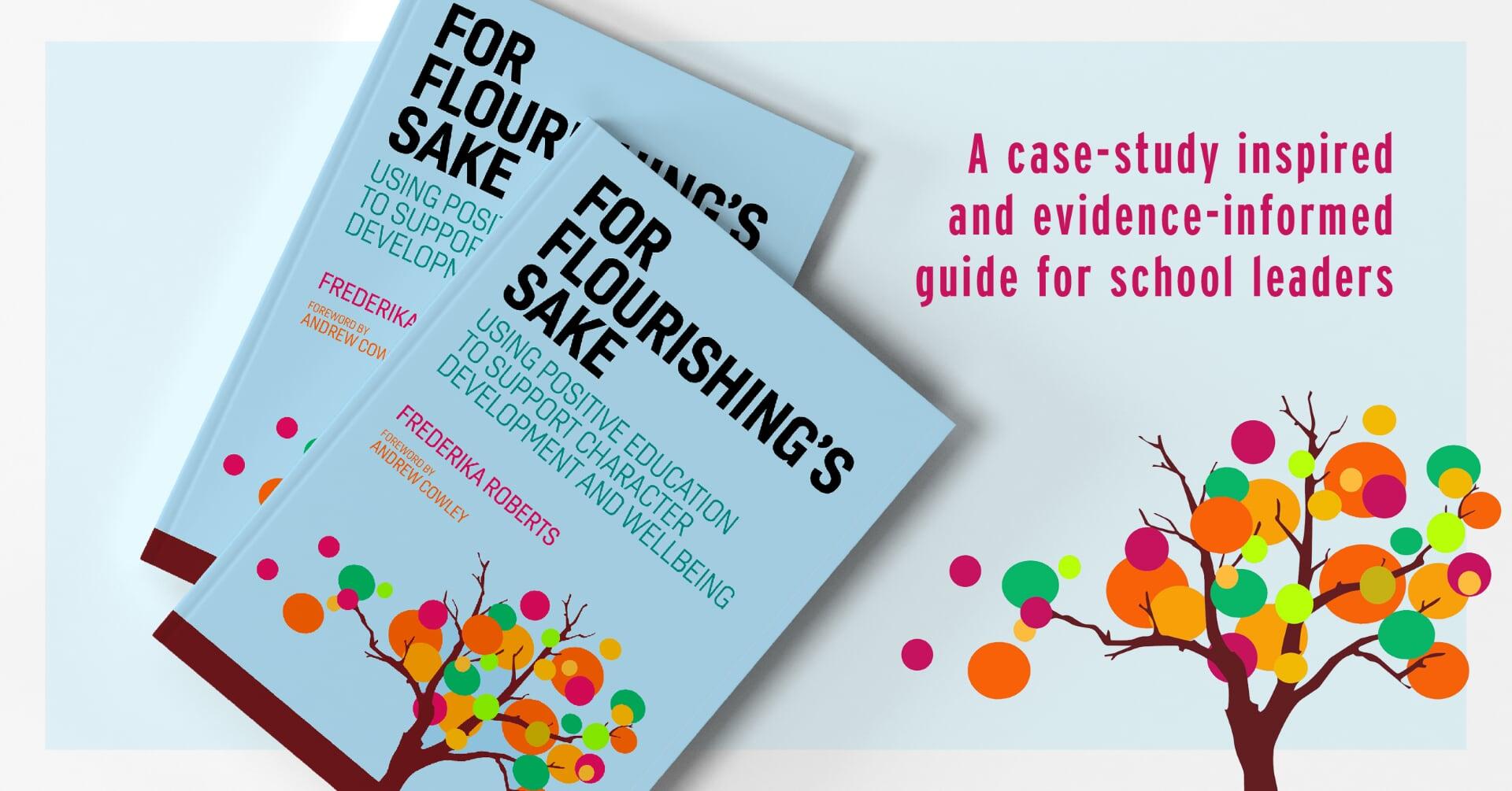For Flourishing's Sake Book Cover promo image