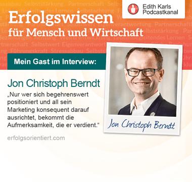 Im Gespräch mit Jon Christoph Berndt - Teil 2