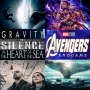 Artwork for Week 113: (Avengers: Endgame (2019), The Silence (2019), In The Heart of the Sea (2015), Gravity (2013))