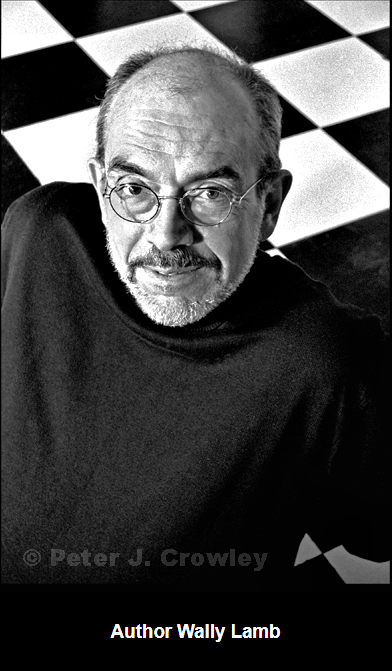 photo of author, Wally Lamb, by Peter J. Crowley