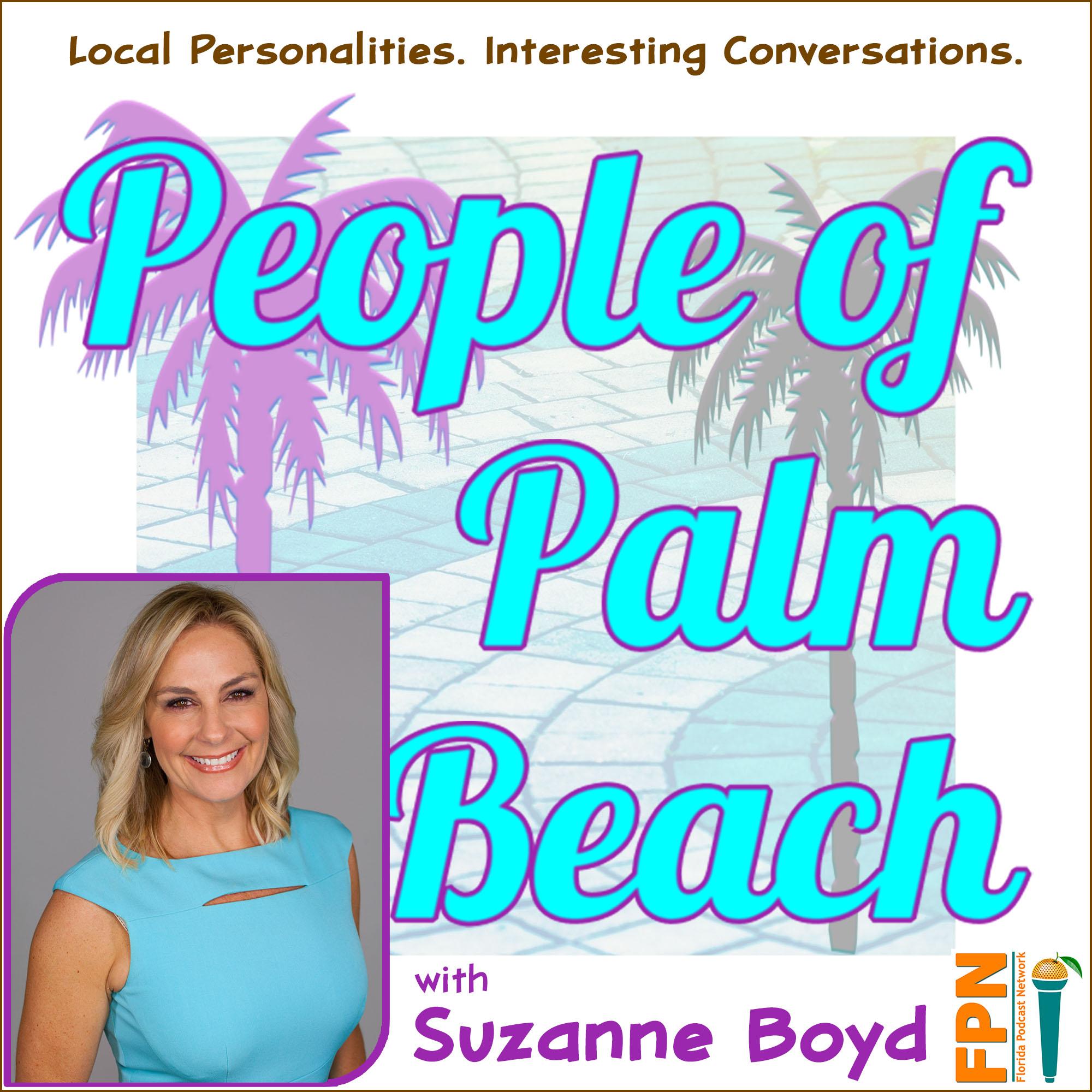 People of Palm Beach show art