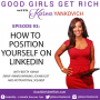 Artwork for 093 - How to Position Yourself on LinkedIn with Bofta Yimam