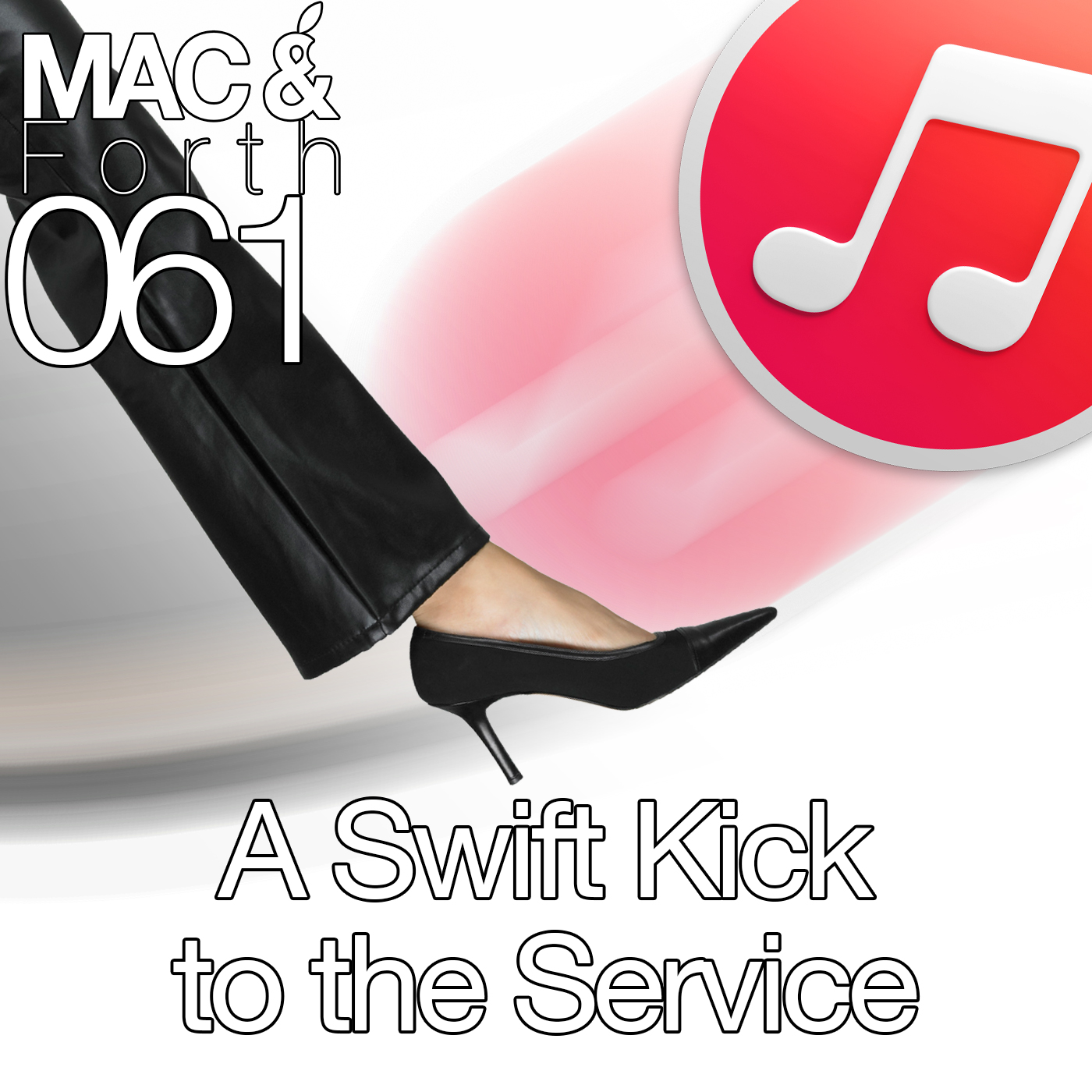 The Mac & Forth Show 061 - A Swift Kick to the Service