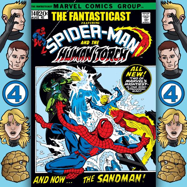 Episode 140: Marvel Team-Up #1 - Have Yourself A Sandman Little Christmas