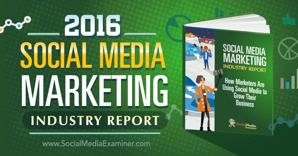 Content Marketing Podcast 178: Insights from the 2016 Social Media Marketing Industry Report