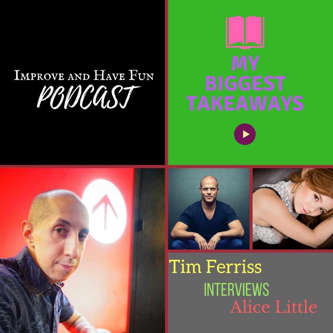 Artwork for My Biggest Takeaways-Tim Ferris Interviews Sex Worker Alice Little  (Video version)