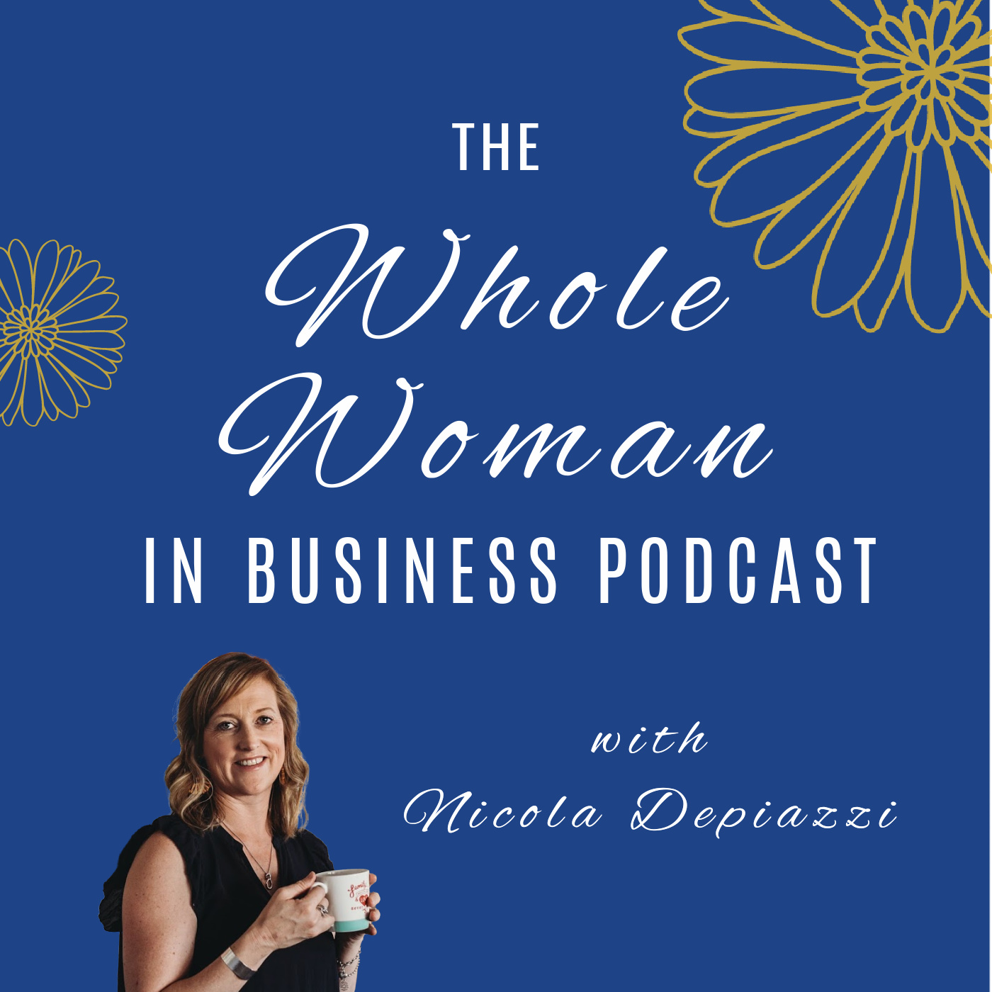 Whole Woman in Business Podcast show art