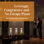 Artwork for Leverage, Congruence and No Escape Plans