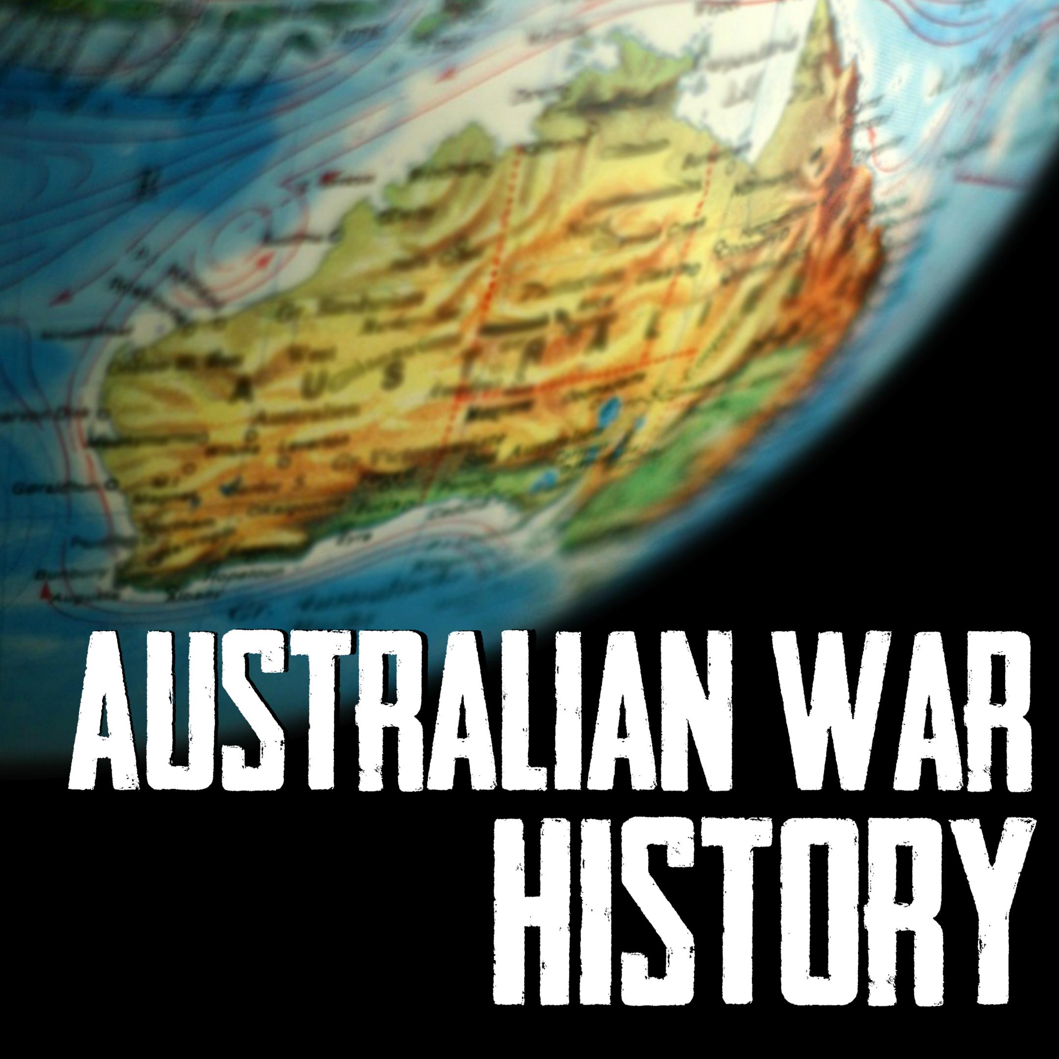 Australian War History Podcast show art
