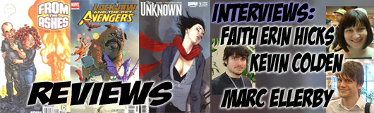 Episode 198 - More TCAF with Kevin Colden, Marc Ellerby & Faith Erin Hicks