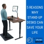 Artwork for 5 reasons why Stand-Up Desks can save your life