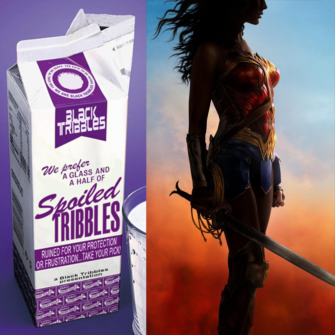 Artwork for SPOILED TRIBBLES - Wonder Woman