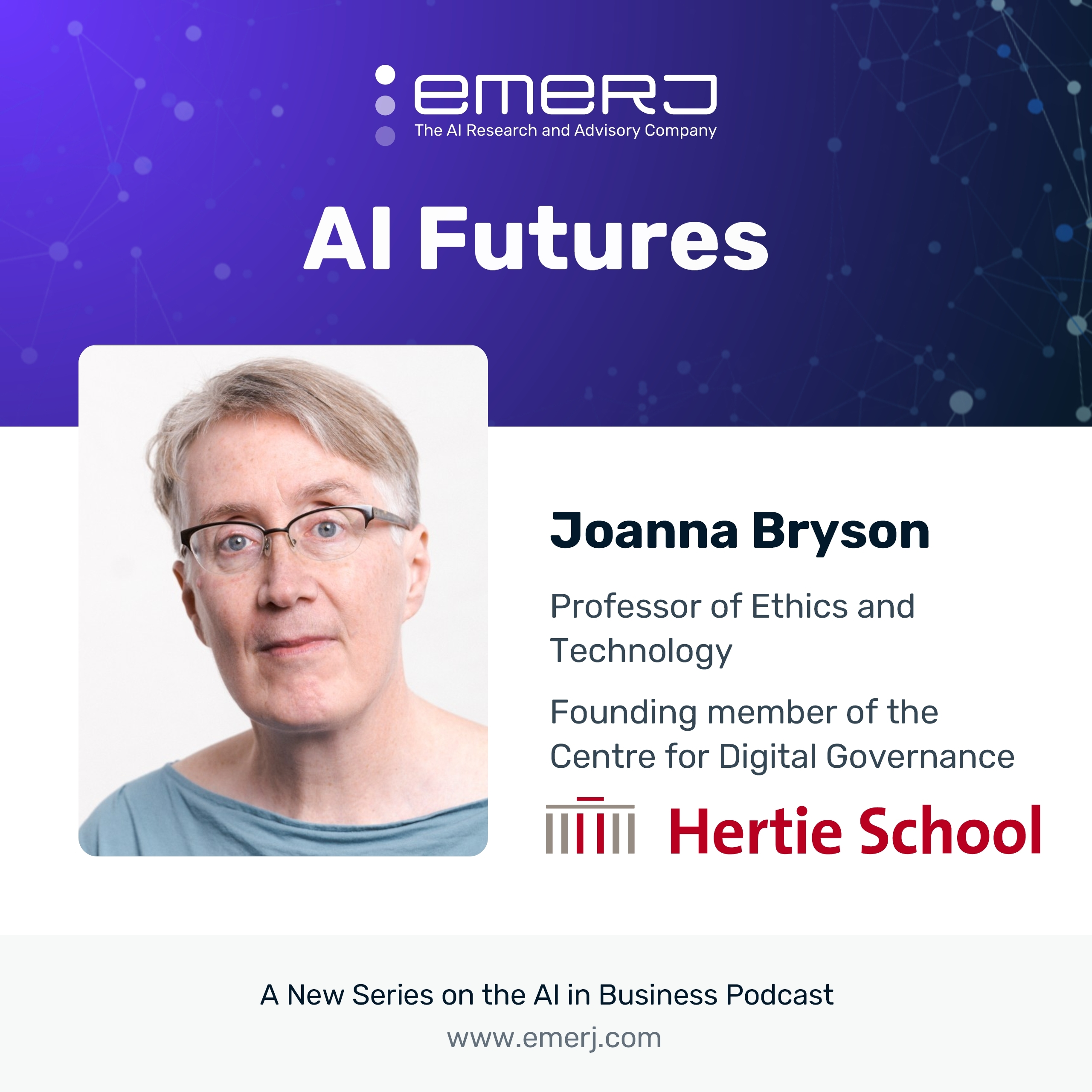 [AI Futures - S2E6] The Future of Security and Privacy in an AI-Enabled World - with Dr. Joanna Bryson of the Hertie School